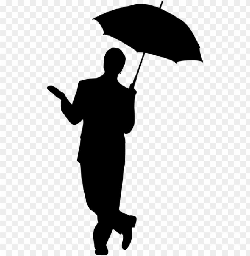 free PNG silhouette, man, umbrella, business - man with umbrella rain PNG image with transparent background PNG images transparent