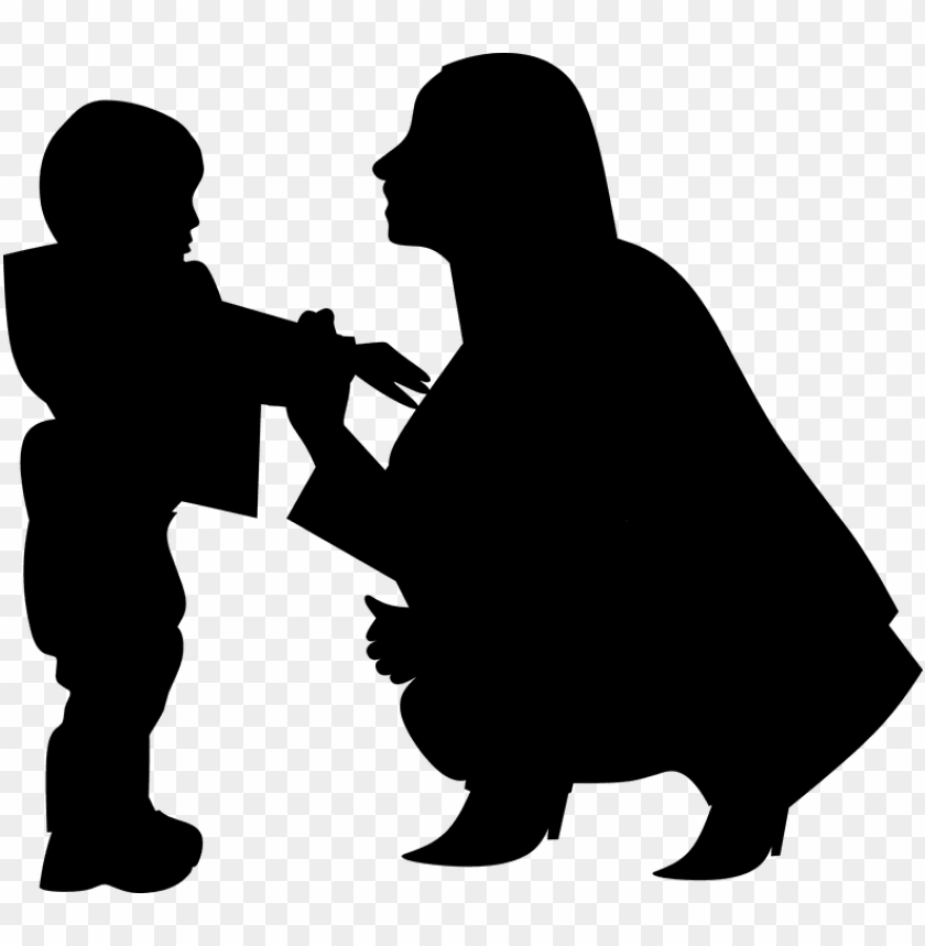free PNG silhouette mothers day woman mother with baby mom - cute mothers day young son graphics PNG image with transparent background PNG images transparent