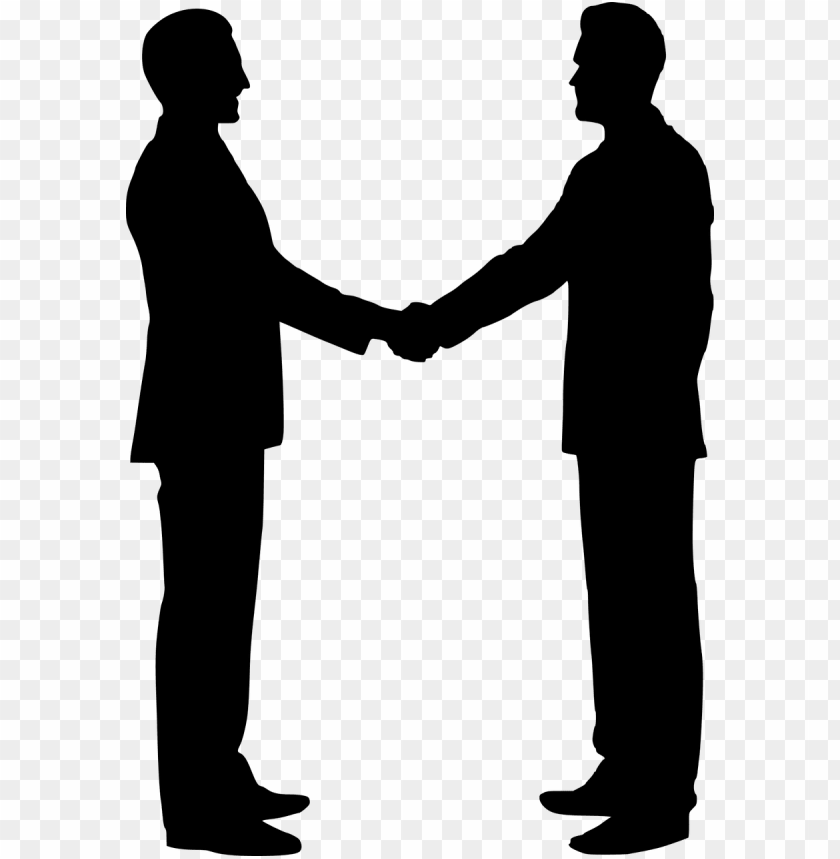 free PNG silhouette, team building, shaking hands, handshake - men and women shaking hands PNG image with transparent background PNG images transparent