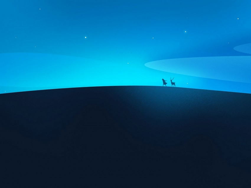 free PNG silhouettes, night, art, vector, minimalism background PNG images transparent