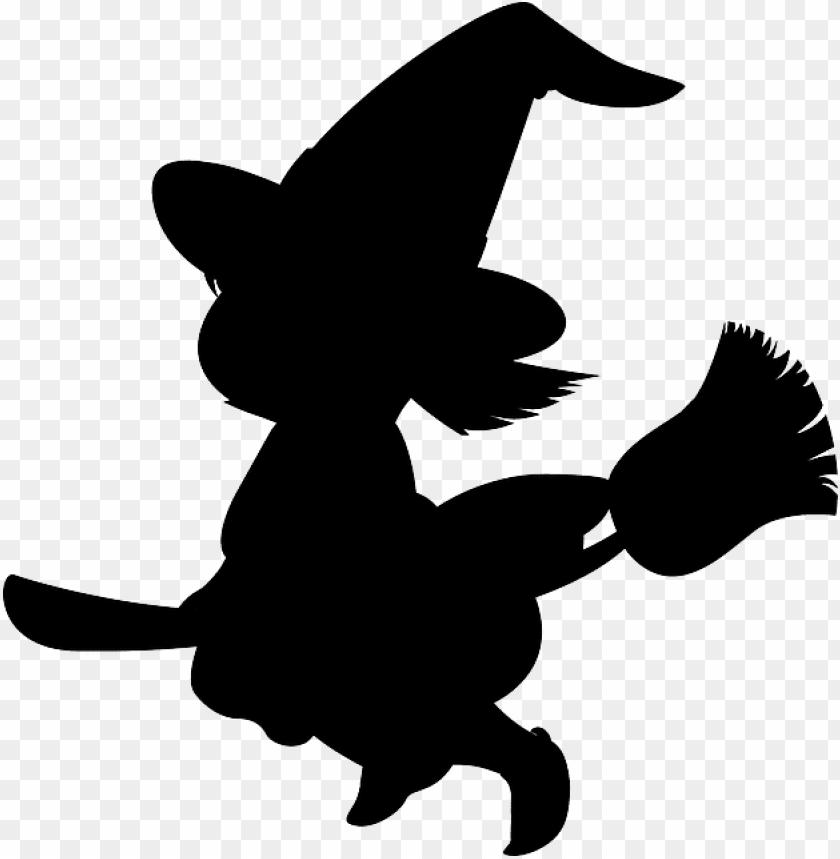 free PNG silueta de brujas para halloween PNG image with transparent background PNG images transparent