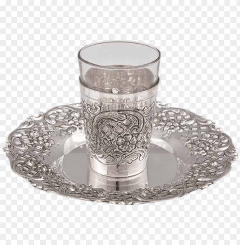 free PNG silver and glass kiddush cup PNG image with transparent background PNG images transparent