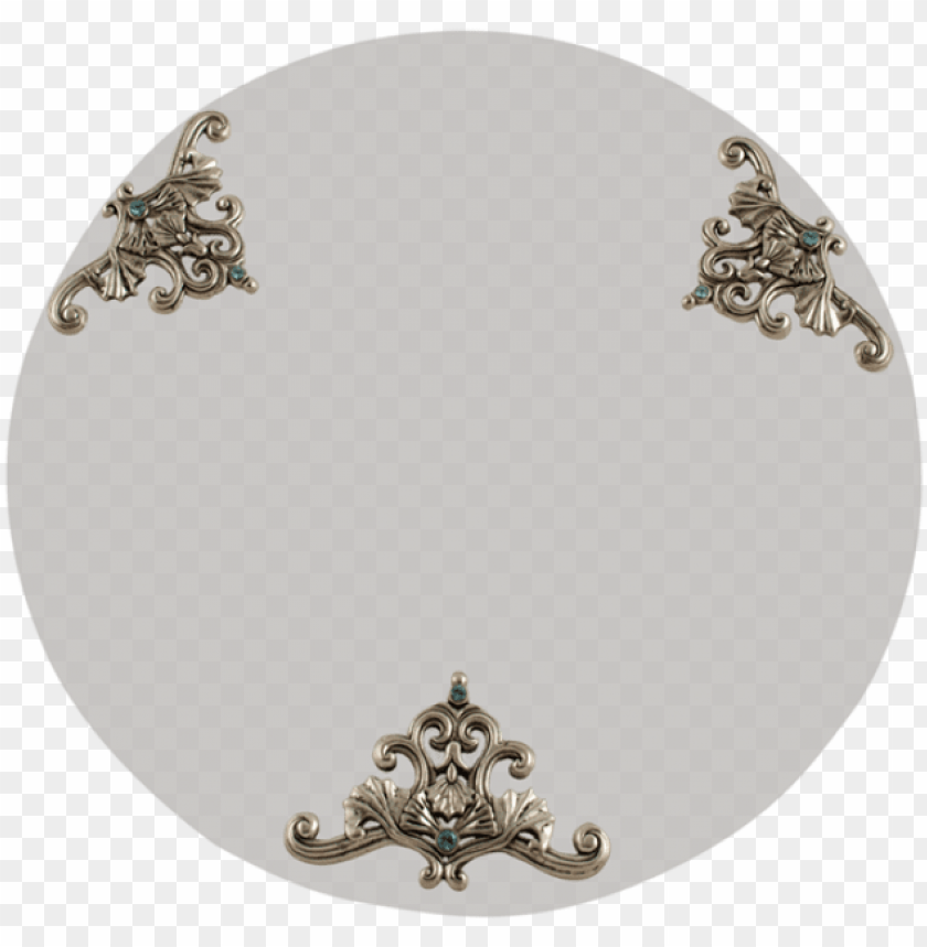 free PNG silver filigree & glass tray PNG image with transparent background PNG images transparent
