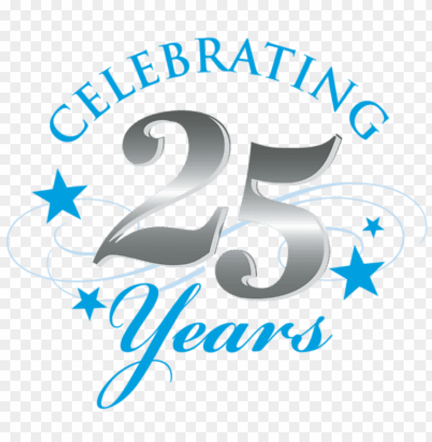 Silver Jubilee Celebrations Png Image With Transparent Background