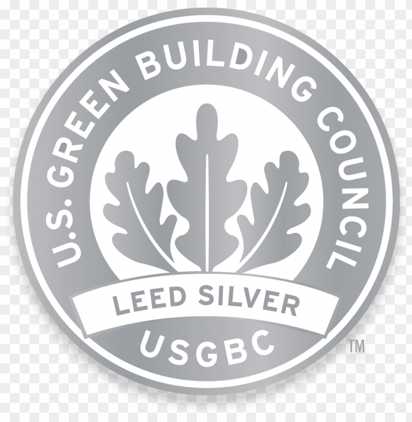 Silver Leed Certification Platinum Png Image With