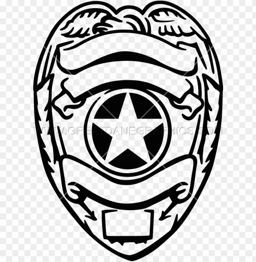 Silver Police Badge Police Badge Svg Free Png Image With Transparent Background Toppng