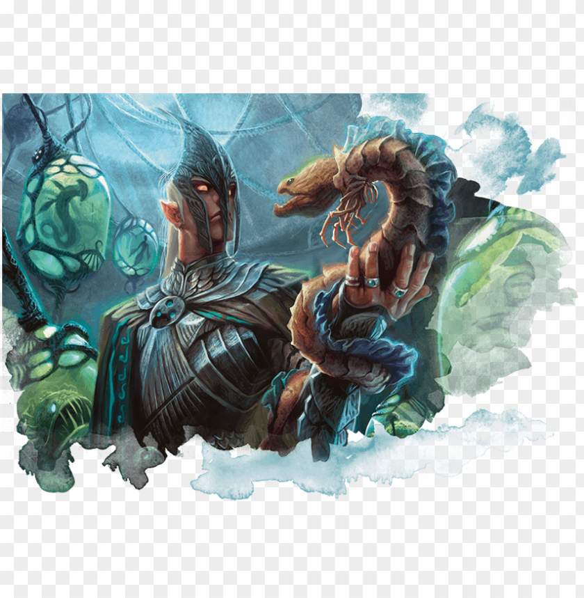 free PNG simic sample - simic hybrid dnd 5e PNG image with transparent background PNG images transparent