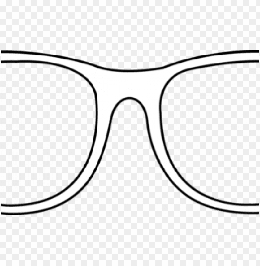 Similar Images For Printable Eyeglasses Pattern Big Glasses Template Png Image With Transparent Background Toppng