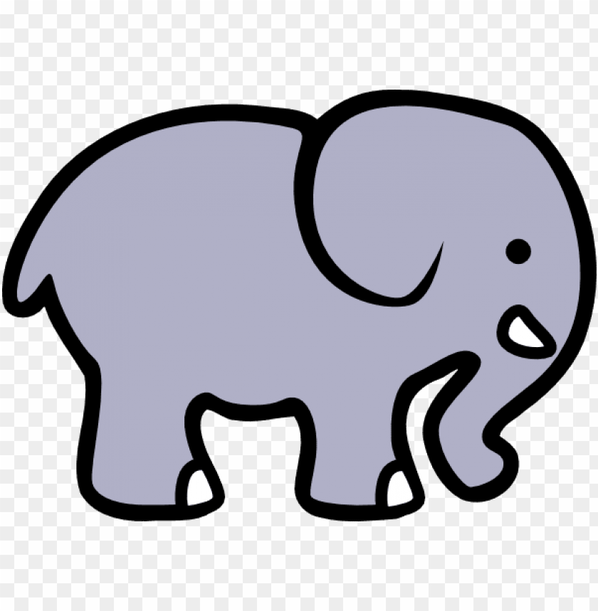 Simple Cartoon Elephant Png Image With Transparent Background Toppng Are you looking for cute cartoon elephant design images templates psd or png vectors files? simple cartoon elephant png image with