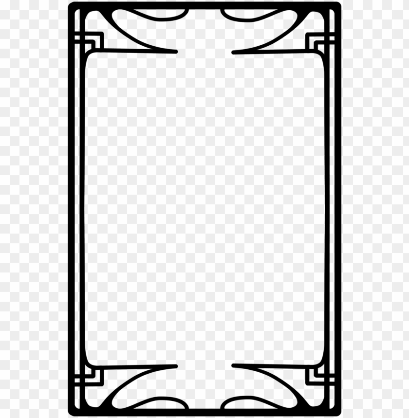 free PNG simple frame vector png - art deco frames PNG image with transparent background PNG images transparent