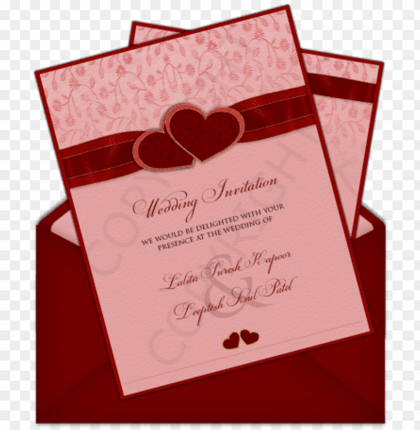 free PNG simple indian wedding invitation card PNG image with transparent background PNG images transparent
