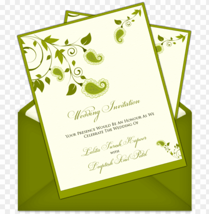 Simple Invitation Card Design Png Image With Transparent