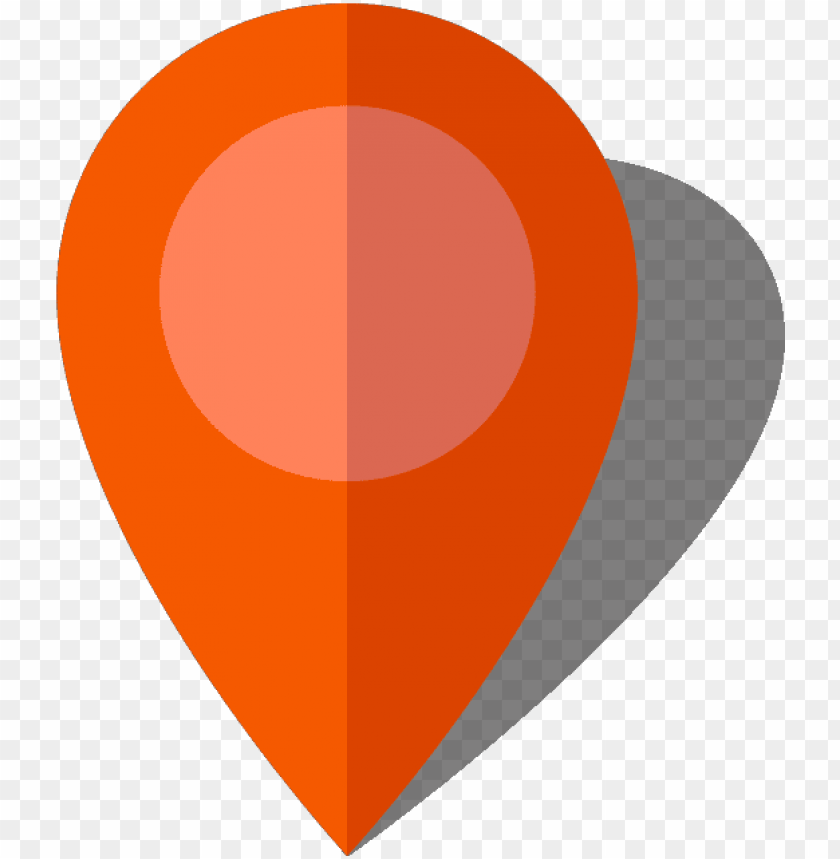 free PNG simple location map pin icon - orange location pin PNG image with transparent background PNG images transparent