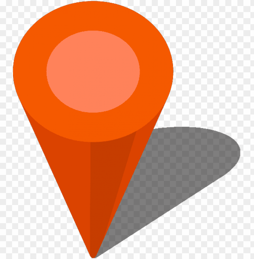 free PNG simple location map pin icon3 orange free vector data - location map icon vector PNG image with transparent background PNG images transparent
