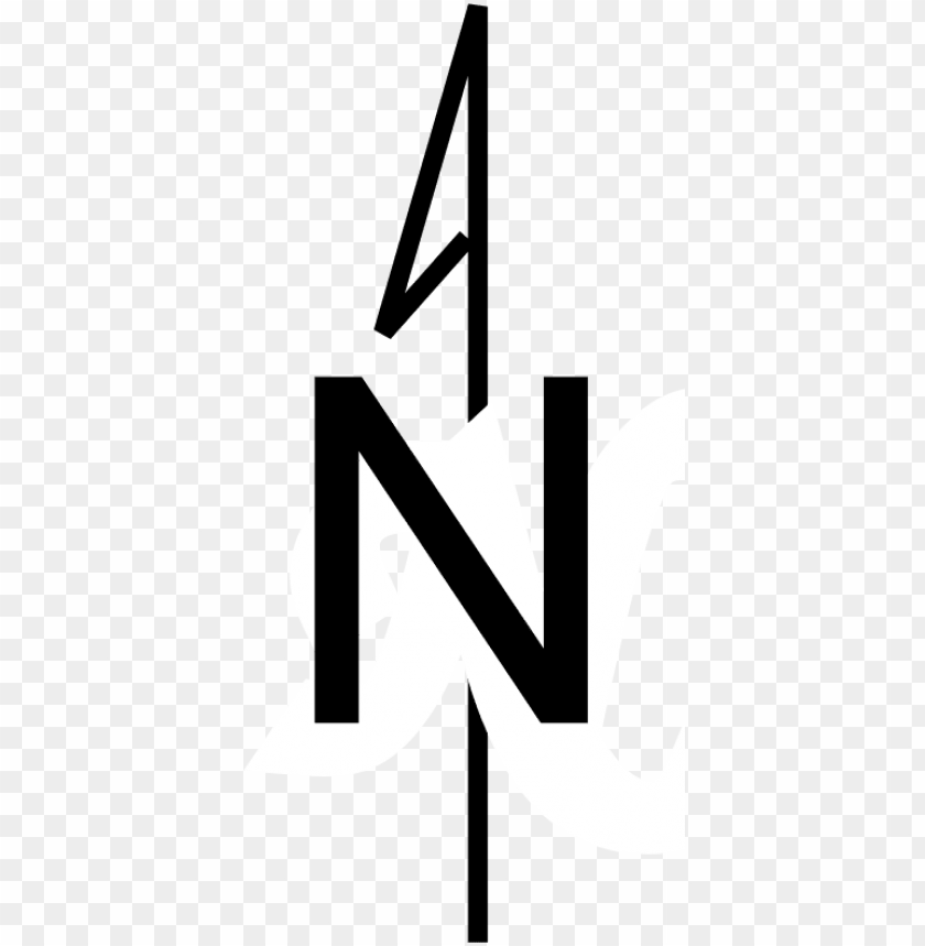 free PNG simple north arrow - compass rose north only PNG image with transparent background PNG images transparent