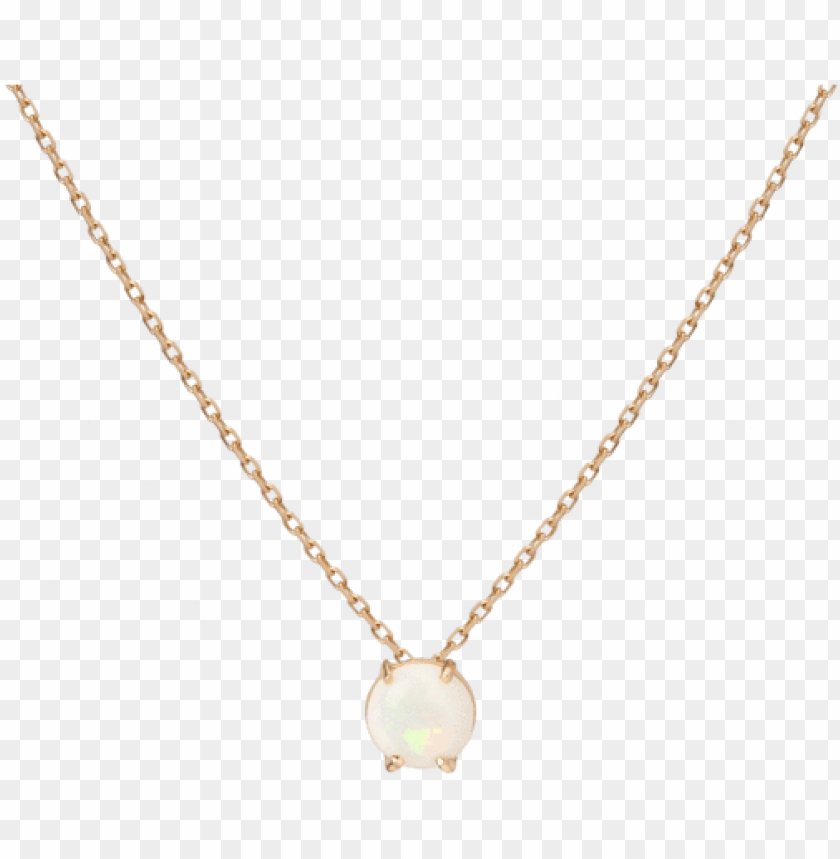 simple opal necklace yellow gold vermeil 14k yellow - gold chain with heart PNG image with transparent background@toppng.com