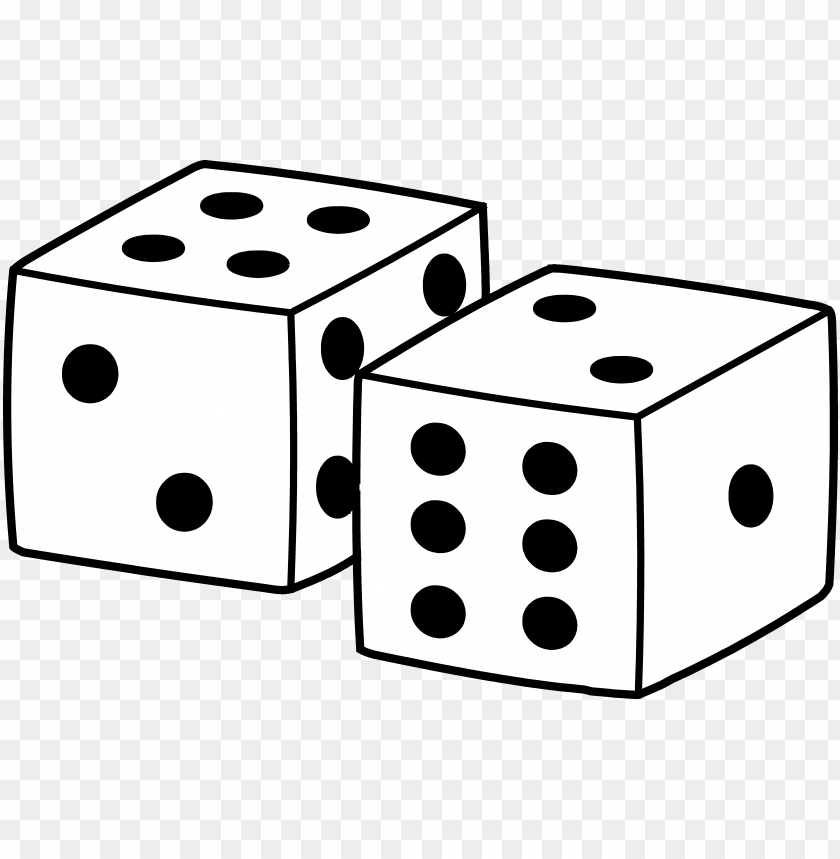 free PNG simple playing dice design - square things clipart PNG image with transparent background PNG images transparent