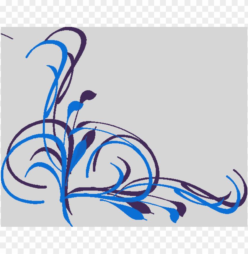 free PNG simple swirl designs png design clip art online - simple corner swirl desi PNG image with transparent background PNG images transparent