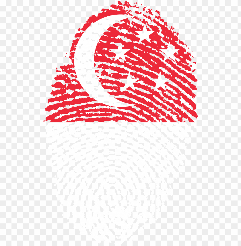 free PNG singapore flag fingerprint country - proud to be singaporea PNG image with transparent background PNG images transparent