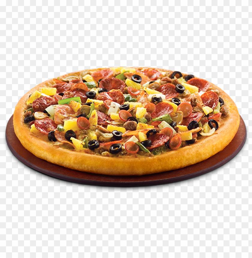 free PNG singapore pizza hut menu - chicken super supreme pizza hut PNG image with transparent background PNG images transparent