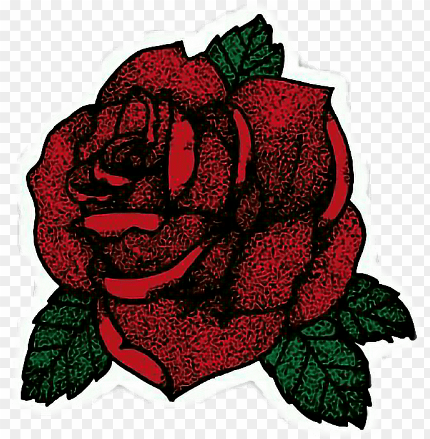 free PNG single black rose red rose png clipart image - red rose stickers PNG image with transparent background PNG images transparent
