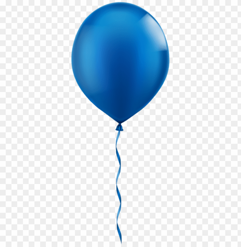 free PNG Download single blue balloon png images background PNG images transparent