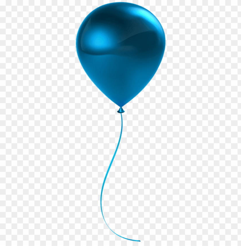free PNG Download single blue balloon transparent png images background PNG images transparent