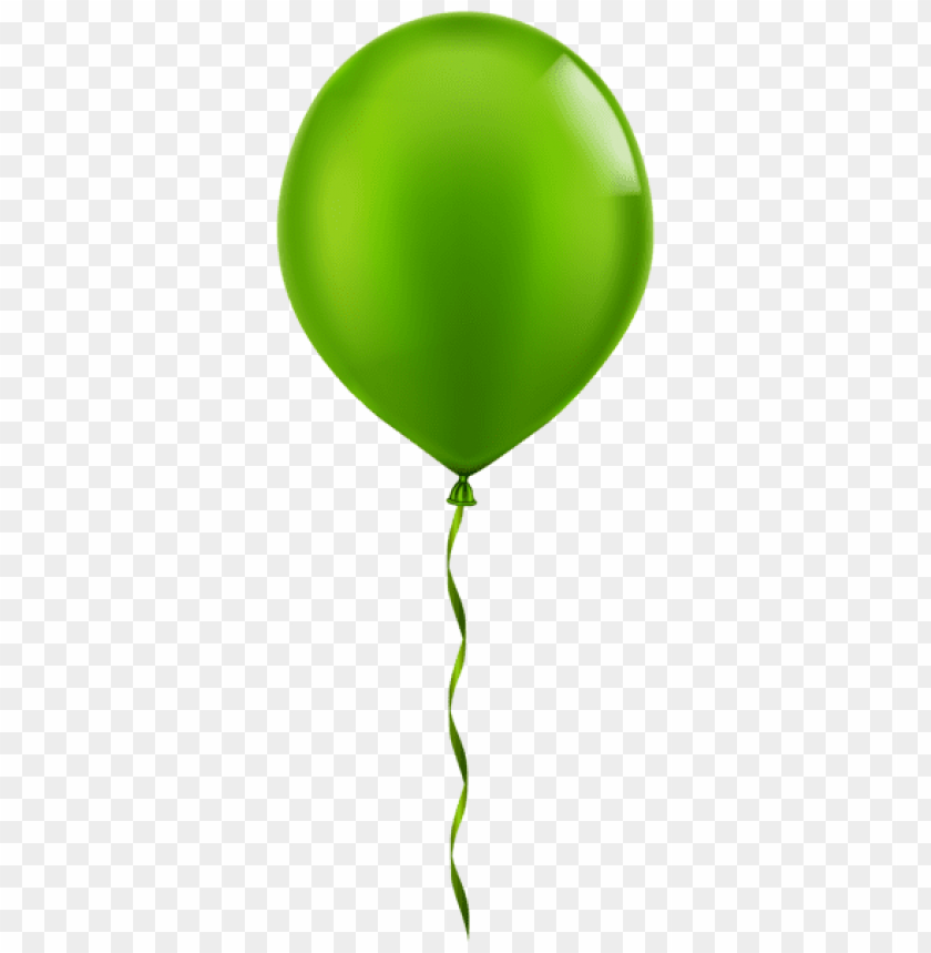 free PNG Download single green balloon png images background PNG images transparent