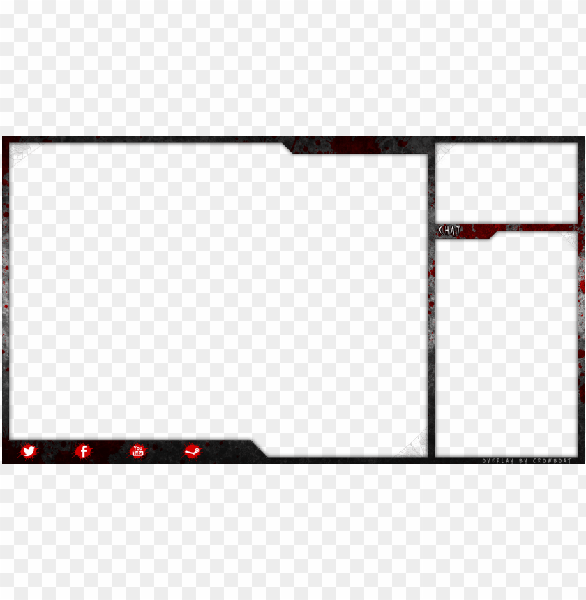 free PNG single layer png file - twitch overlay free PNG image with transparent background PNG images transparent