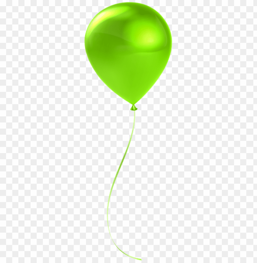free PNG Download single lime balloon transparent png images background PNG images transparent
