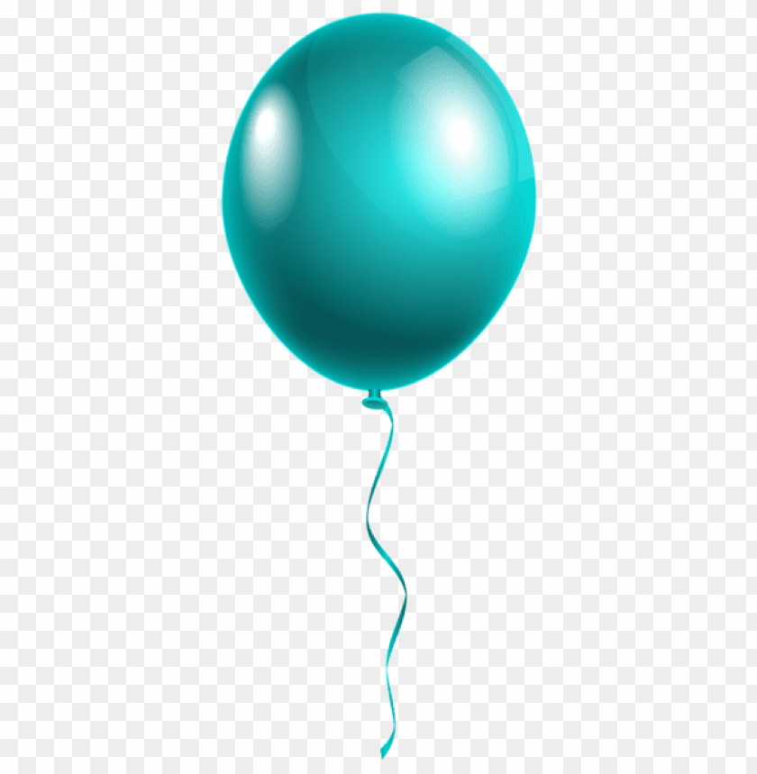 free PNG Download single modern blue balloon png images background PNG images transparent