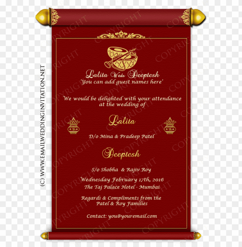 Single Page Email Wedding Invitation Diy Template Wedding Invitations Online Create Free Png Image With Transparent Background Toppng