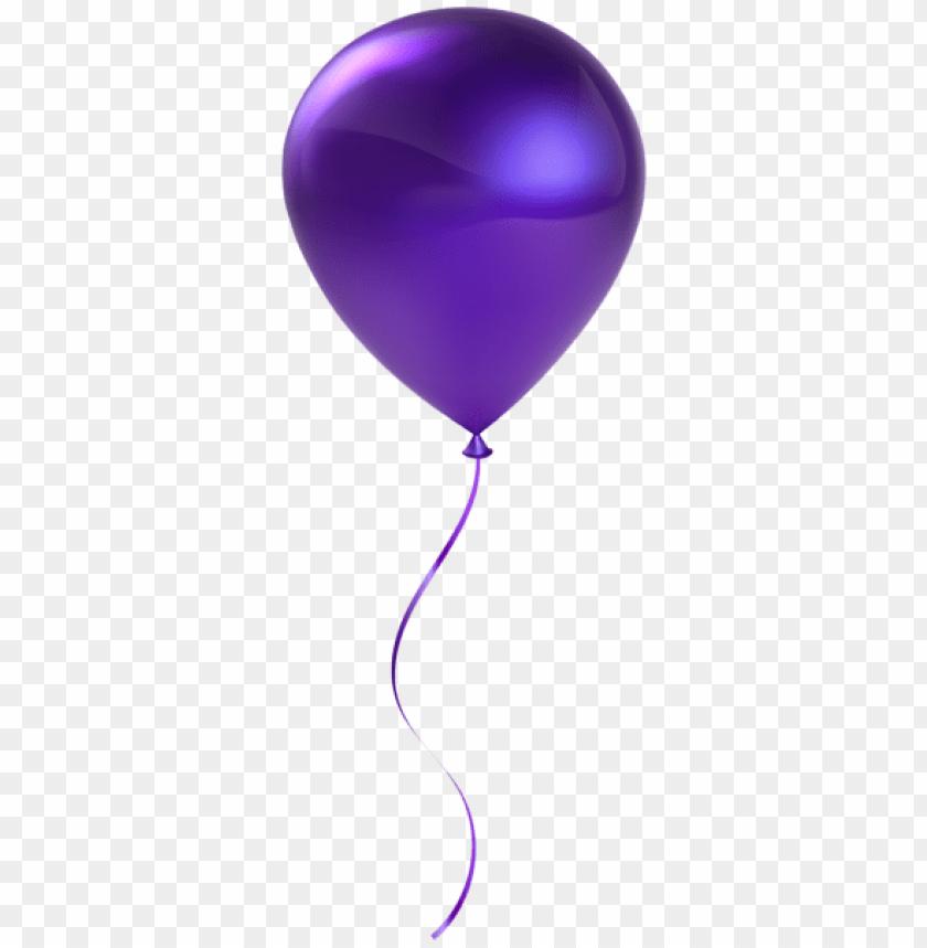 free PNG Download single purple balloon transparent png images background PNG images transparent