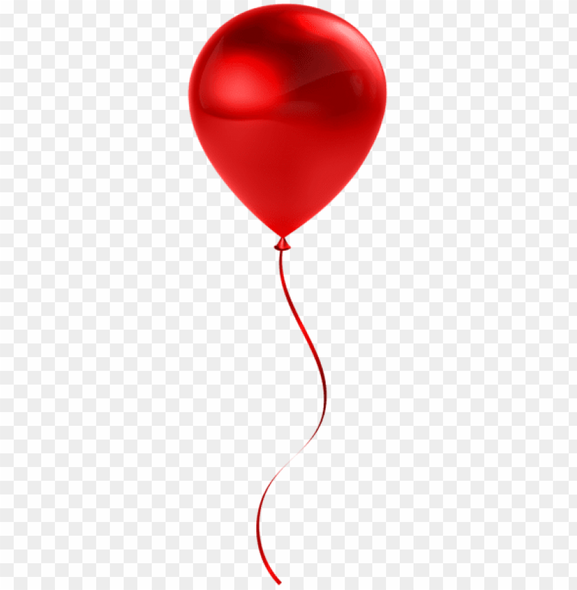 free PNG Download single red balloon transparent png images background PNG images transparent