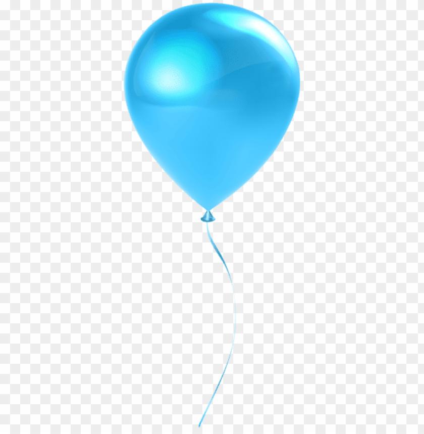 free PNG Download single sky blue balloon transparent png images background PNG images transparent