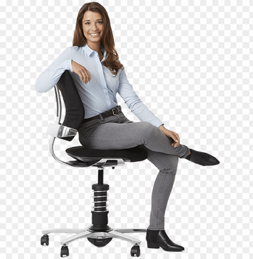Sitting And Health People Sitting On A Chair Png Image With Transparent Background Toppng