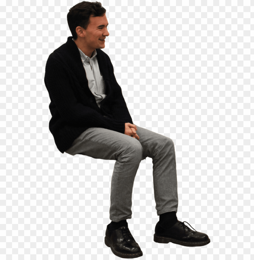 free PNG sitting man png - man sitting on chair PNG image with transparent background PNG images transparent