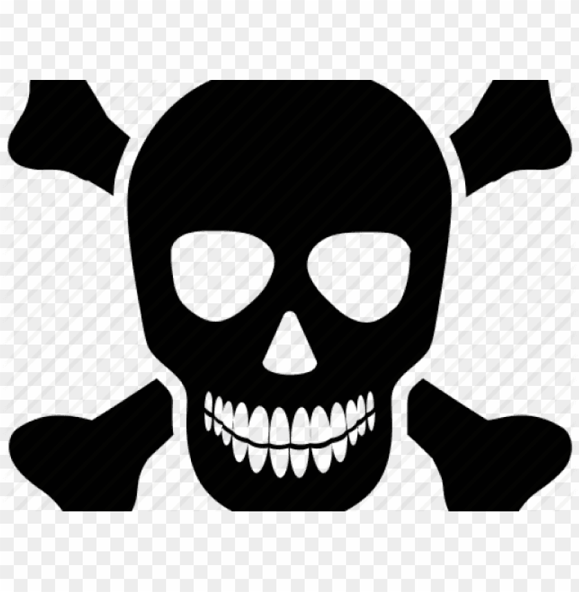 Skull And Cross Bones Crime Skull Icons Png Image With Transparent Background Toppng