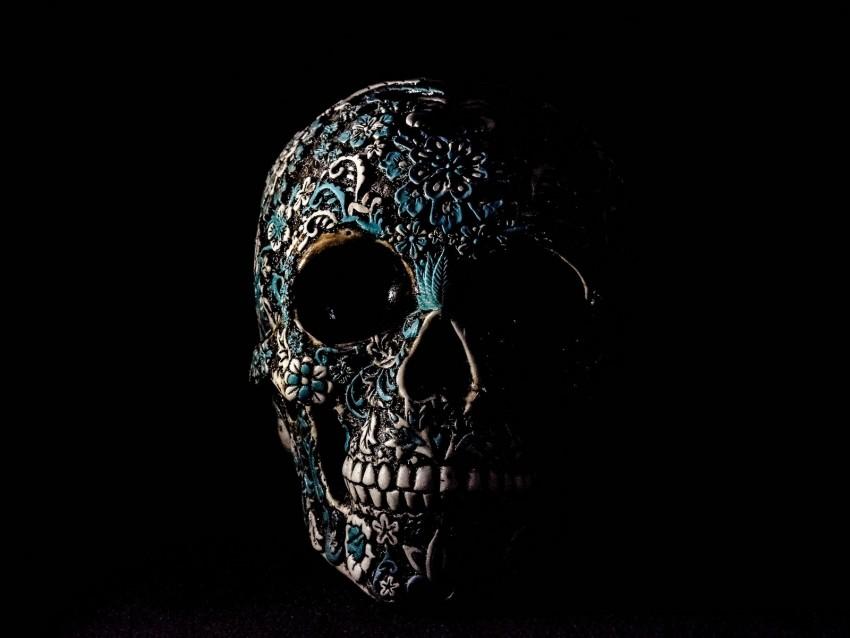 free PNG skull, dark, patterns, bones background PNG images transparent