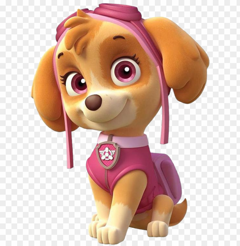free PNG skye patrulla de cachorros png imagenes de paw - paw patrol characters PNG image with transparent background PNG images transparent