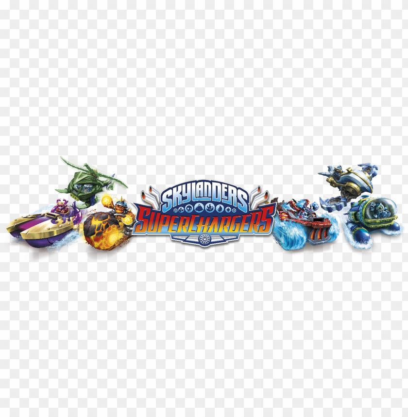 skylanders superchargers logo 78689, mediabin - power blue splat: skylanders superchargers figure PNG image with transparent background@toppng.com
