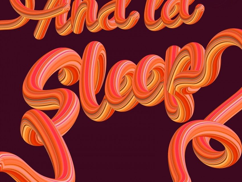 free PNG sleep, letters, inscription, volume background PNG images transparent