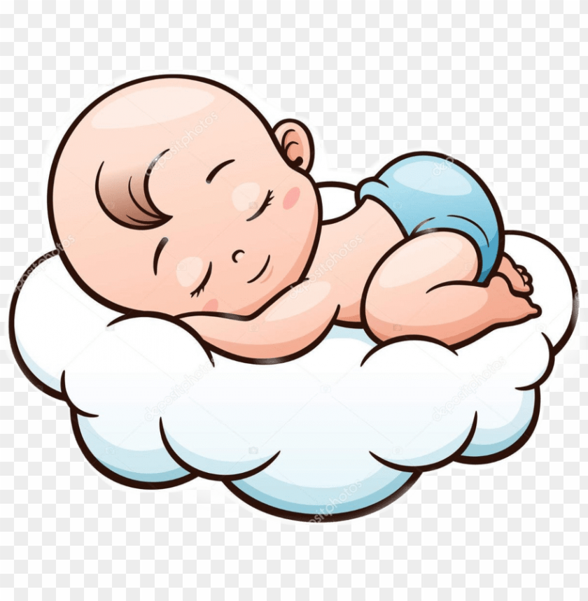 Sleeping Cartoon Baby Face Png Image With Transparent Background Toppng