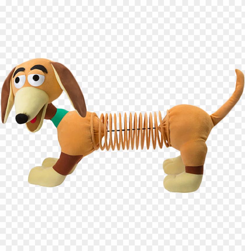 """free PNG slinky dog 36"""" giant plush - disney pixar toy story giant slinky dog plush PNG image with transparent background PNG images transparent"""