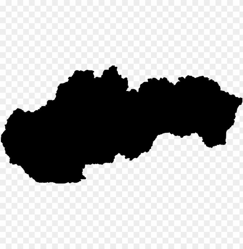 free PNG slovakia vector map world map blank map - slovakia regions map sv PNG image with transparent background PNG images transparent