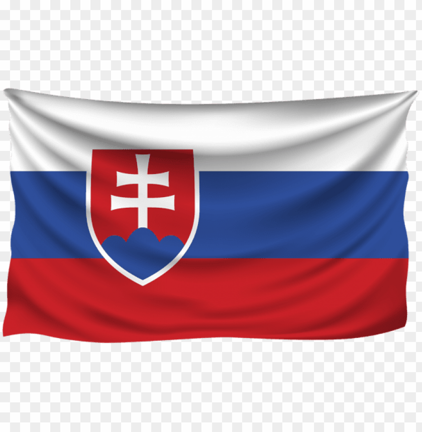 free PNG Download slovakia wrinkled flag clipart png photo   PNG images transparent