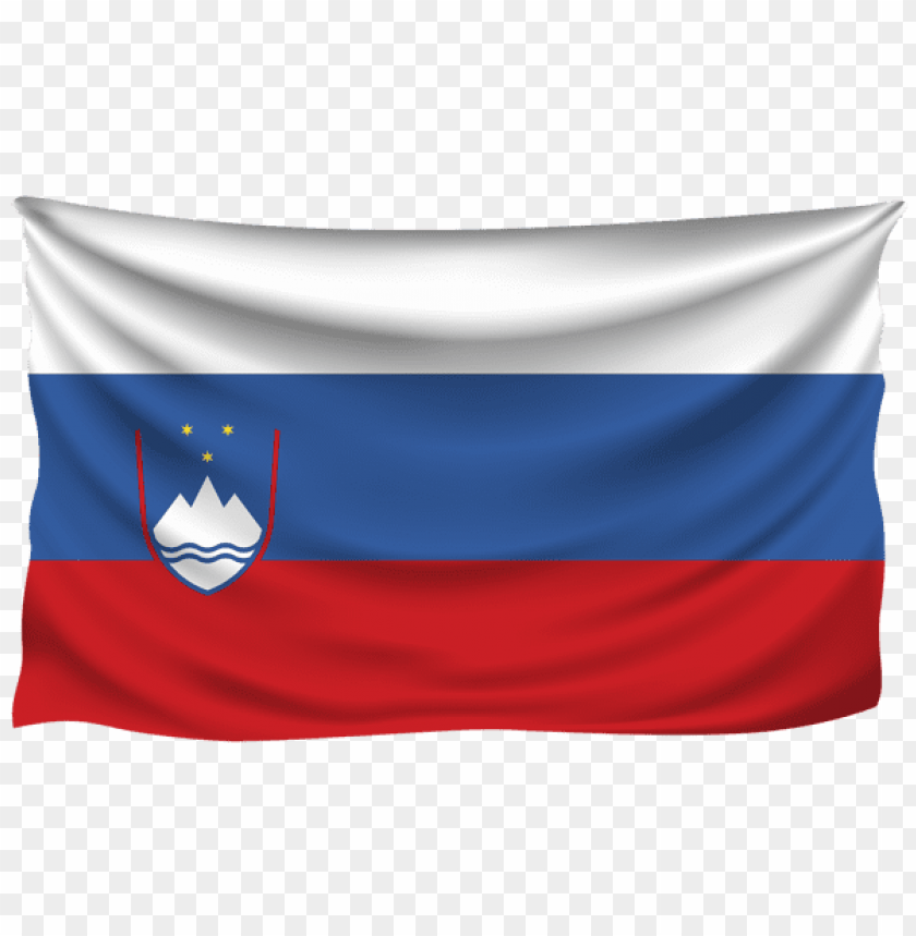 free PNG Download slovenia wrinkled flag clipart png photo   PNG images transparent