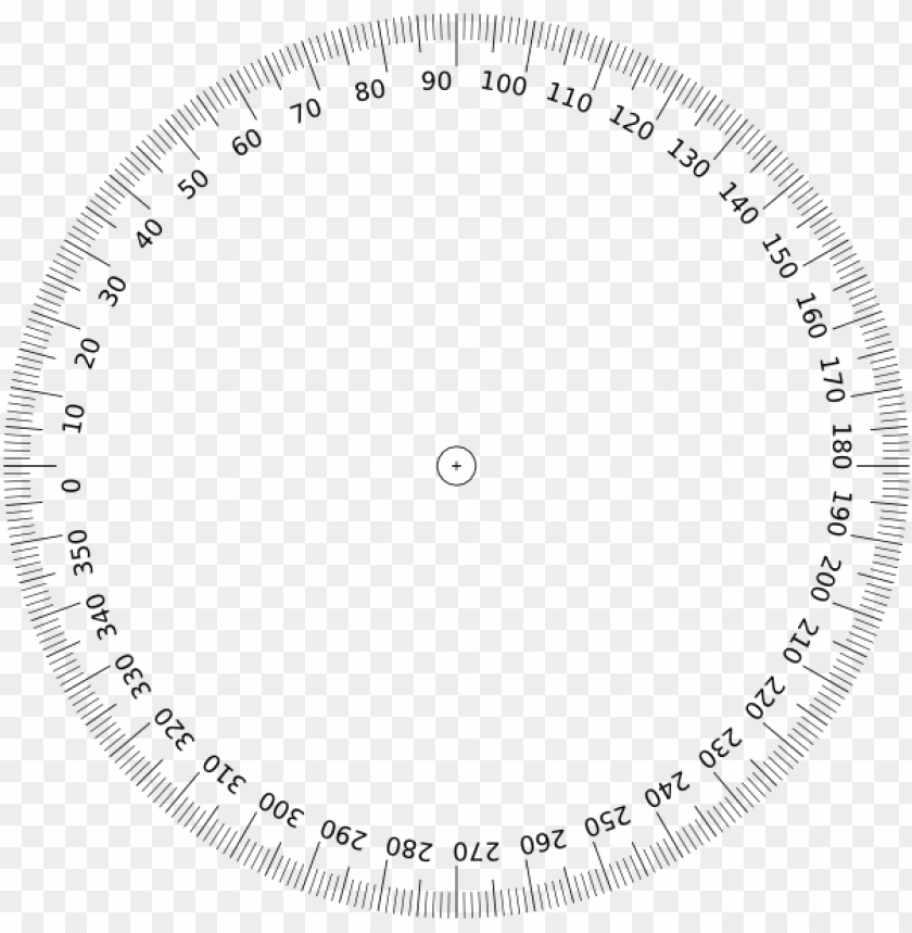 free PNG small - 360 degree protractor PNG image with transparent background PNG images transparent