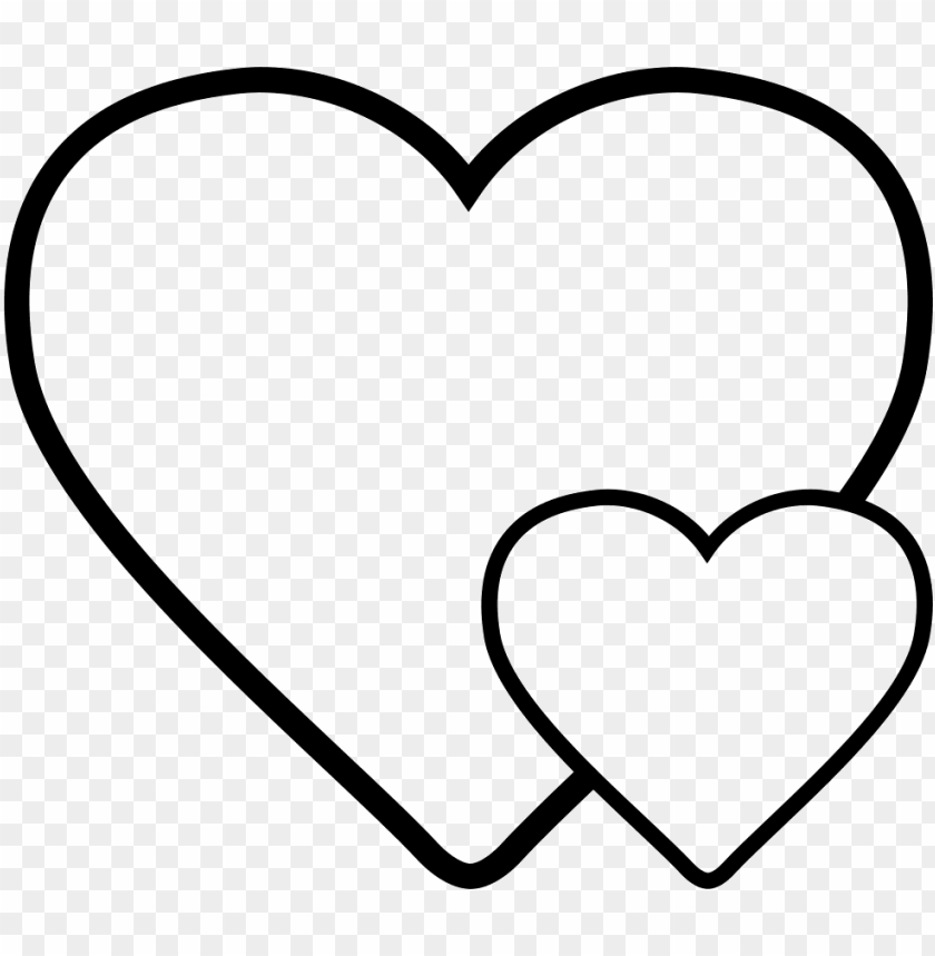 free PNG small heart big heart PNG image with transparent background PNG images transparent