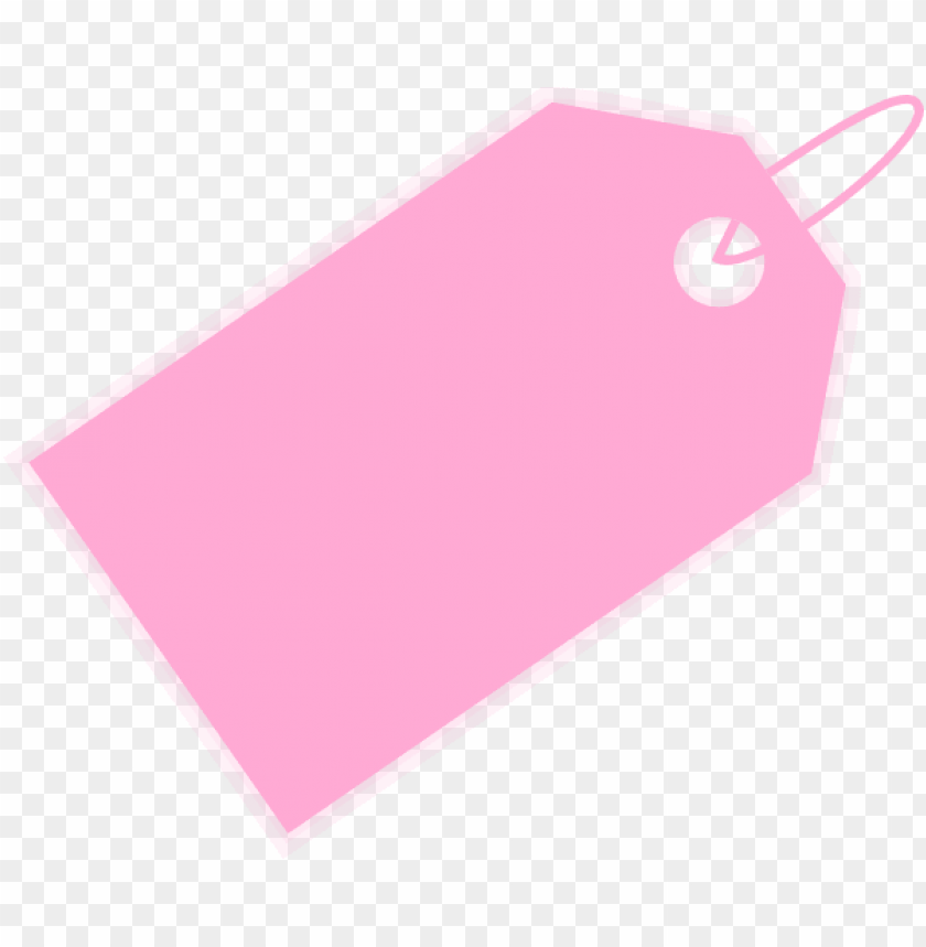 Small Pink Price Tag Clipart Png Image With Transparent Background Toppng